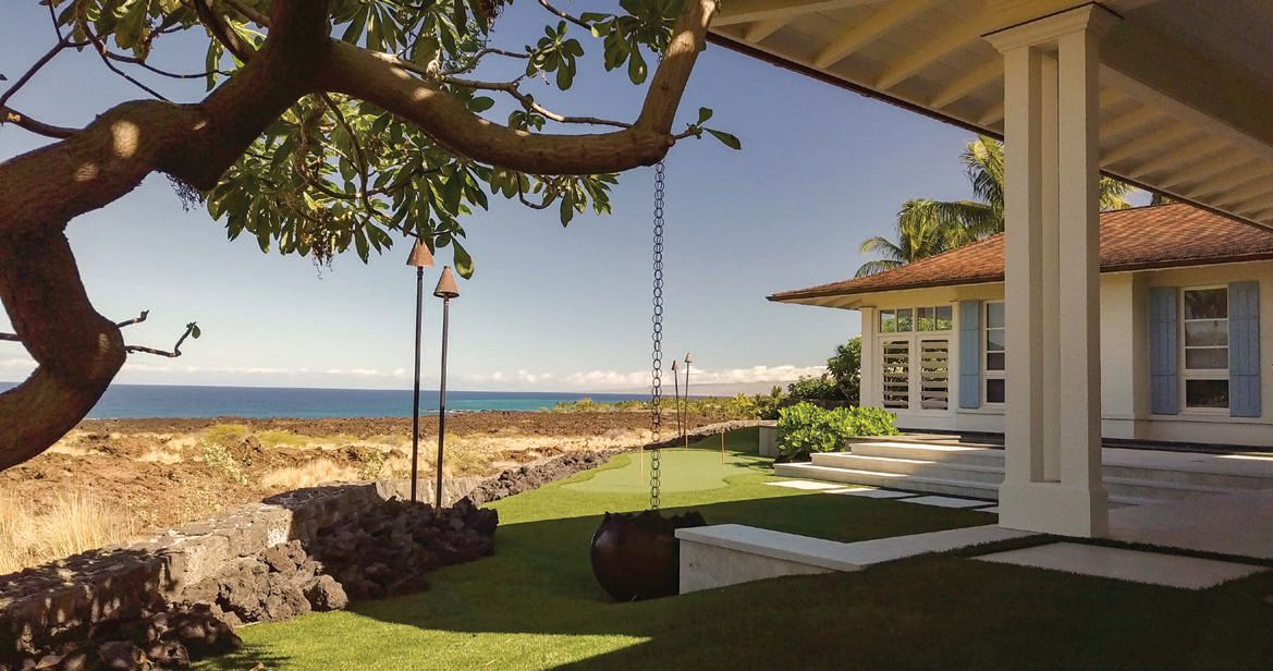 A state-of-the-art conservation landscape with an ocean view PHOTO: BY CLUB SULLIVAN INC.